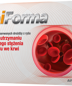 APOTEX LipiForma Cholesterol 30kapsułek