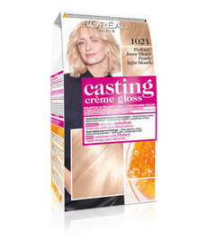 L'OREAL Casting Creme Gloss 1021 Jasny Perłowy Blond