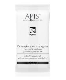 APIS Maska Algowa Detoksykująca Węgiel z Bambusa i Jonizowane Srebro 20g