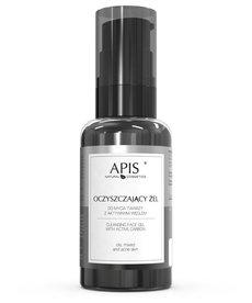 APIS Oczyszczający Żel do Mycia Twarzy z Aktywnym Węglem 50 ml