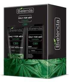 BIELENDA Zestaw Prezentowy Only for Men  Cannabis dla Mężczyzn