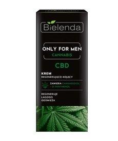 BIELENDA Only for Men Cannabis Krem Regenerująco-Kojący dla Mężczyzn 50ml