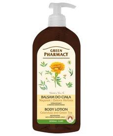 GREEN PHARMACY Balsam do Ciała Odmładający Nagietek i Zielona Herbata 500ml