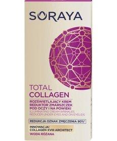 SORAYA Total Collagen Krem Rozświetlający Reduktor Zmarszczek pod Oczy 15ml