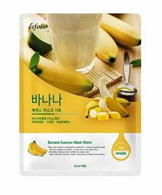 ESFOLIO Odżywczo Zmiękczająca Maska w Płachcie Banan 23ml