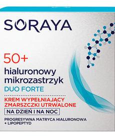 SORAYA Hialuronowy Mikrozastrzyk 50+ Duo Forte  Zmarszczki Utrwalone 50ml