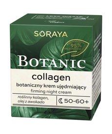 SORAYA Botanic Collagen Botaniczny Krem Ujędrniający 50-60+ Noc 75ml