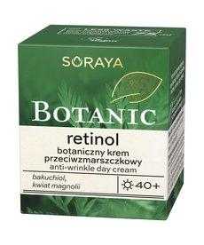 SORAYA Botanic Retinol 40+ Botaniczny Krem Przeciwzmarszczkowy na Dzień 75ml