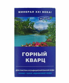 RUSSIAN COSMETICS Naturalny Uzdrowiciel  Kwarc Naturalny Filtr do Wody 150g