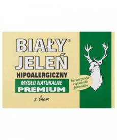 BIALY JELEN Mydlo Naturalne Hipoalergiczne Premium z Lnem 100g