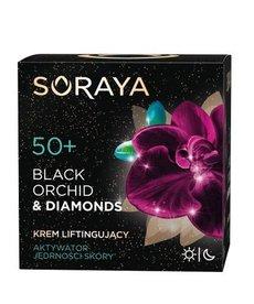 SORAYA Black Orchid&Diamonds 50+ Krem Liftingujący Dzień/Noc 50ml