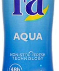 FA Antyperspirant dla Kobiet  Aqua 0% Soli Aluminium 150ml