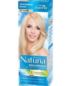 JOANNA Naturia Rozjaśniacz do Całych  Włosów 4-5 Tonów Intensywny Blond