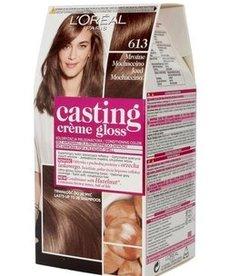 LOREAL Casting Creme Gloss Farba do Włosów 613 Mrozne Mochaccino