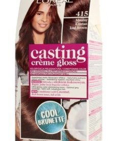 LOREAL Casting Creme Gloss Farba do Włosów 415 Mrozny Kasztan