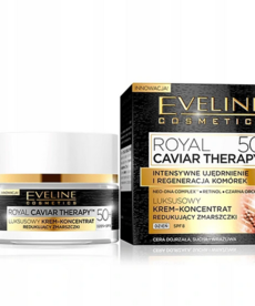 EVELINE Royal Caviar Theraphy 50+ Krem-Koncentrat na Zmarszczki na Dzien 50ml