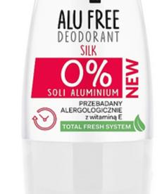AA Alu Free Dezodorant Roll-on Silk 0% Soli Aluminium 50ml