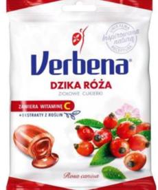 VERBENA Ziołowe Cukierki Dzika Róża 60g