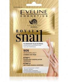 EVELINE Royal Snail SOS Zabieg 2-etapowy Do Rąk 2x6ml