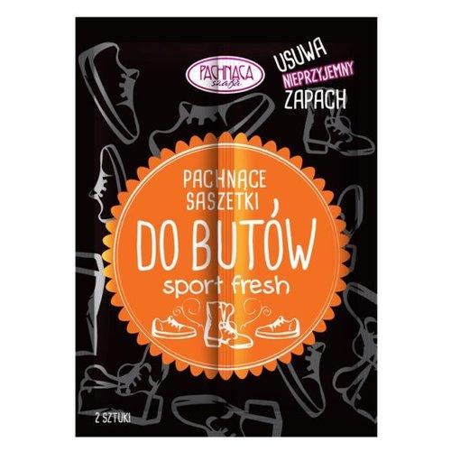 PACHNACA SZAFA Saszetka Do Butow SPORT FRESH 2x4g