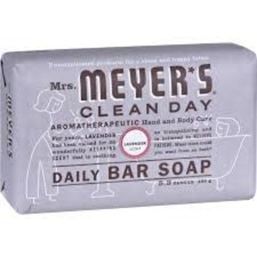 MRS.MEYER'S Clean Day Daily Bar Soap Lavender 5.3oz