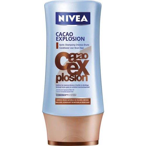 NIVEA Cacao Explosion Odzywka Do Wlosow Brazowych 200ml