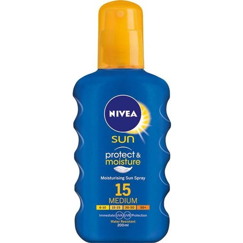 NIVEA Sun SPF 15 Sunscreen Spray 200ml