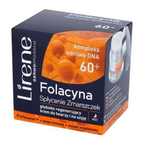 LIRENE Folacyna 60+ Krem Na Noc 50ml