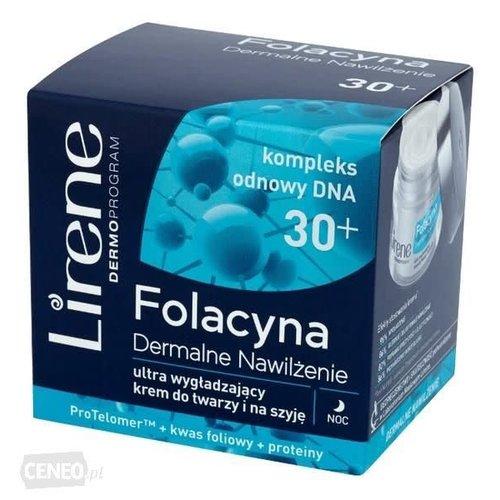 LIRENE Folacyna 30+ Krem Wygladzajacy Na Noc 50ml