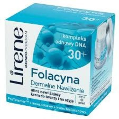 LIRENE Folacyna 30+ Krem Nawilzajacy Na Dzien 50ml