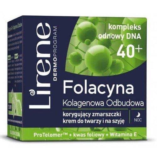 LIRENE LIRENE- Folacyna 40+ Krem Na Noc 50ml