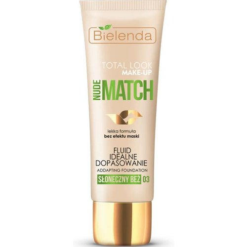 BIELENDA Nude Match Fluid 03 Sloneczny Bez 30g