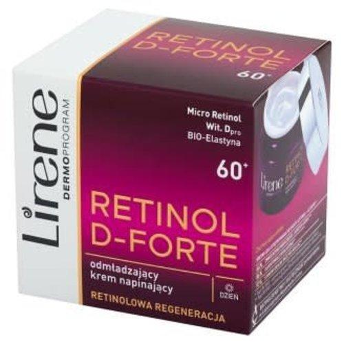 LIRENE Retinol D-Forte 60+ Krem Na Dzien 50ml
