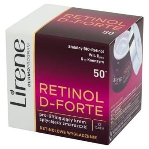 LIRENE Retinol D-Forte 50+ Krem Na Dzien 50ml