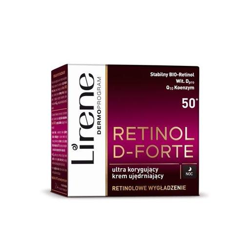 LIRENE Retinol D-Forte 50 + Krem Na Noc 50ml