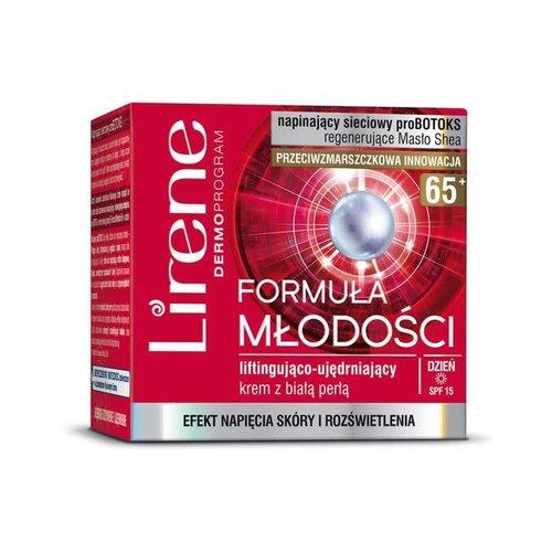 LIRENE Formula Mlodosci 65+ Krem Liftingujacy Na Dzien 50ml