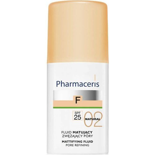 PHARMACERIS F Fluid Matujacy 02 Natural 30ml