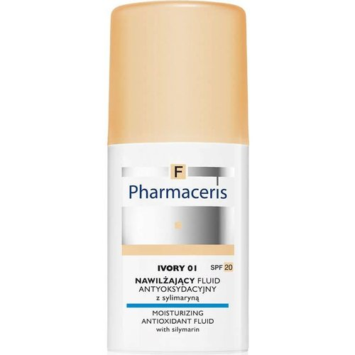 PHARMACERIS F Fluid Nawilzajacy 01 Ivory 30ml