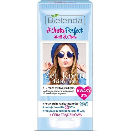BIELENDA INSTA PERFECT Zel-Krem Dzien Noc 50ml