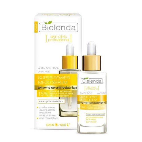 BIELENDA Super Power Mezo Serum Rozjasniajace 30ml