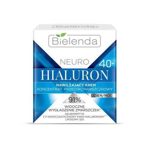 BIELENDA Neuro Hialuron 40+ Krem Nawilzajacy Dzien Noc 50ml