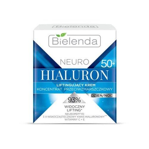 BIELENDA Neuro Hialuron 50+ Krem Liftingujacy 50ml