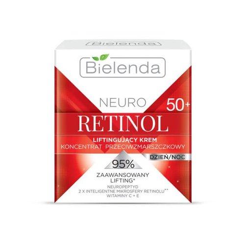 BIELENDA Neuro Retinol 50+ Krem Liftingujacy Dzien Noc 50ml