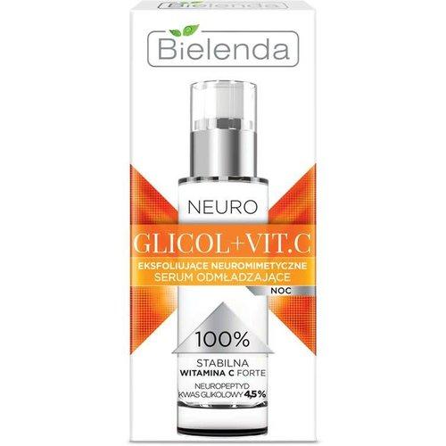 BIELENDA Neuro Glycol Vit C Serum Eksfoliujace Do Twarzy 30ml