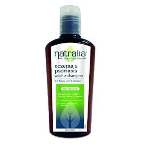 NATRALIA Eczema & Psoriasis Wash & Shampoo 200ml
