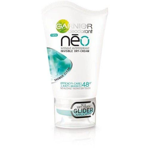 GARNIER Neo Shower Clean Antyperspirant w Suchym Kremie 40ml
