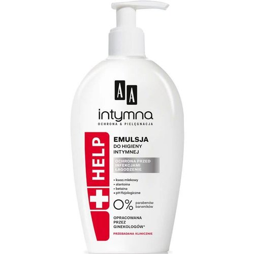 AA Intymna +Help Emulsja Do Higieny Intymnej 300ml