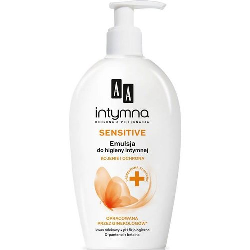 AA Intymna Sensitive Delikatna Emulsja 300ml