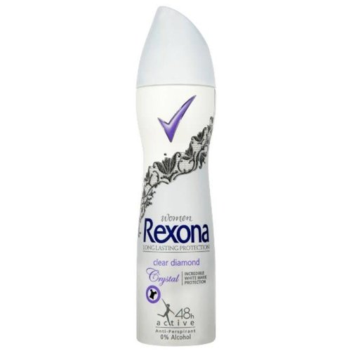 REXONA Antyperspirant Spray Clear Diamond 150ml