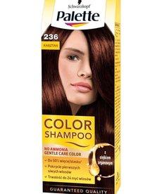 SCHWARZKOPF Palette  Color Shampoo Szampon Koloryzujący Nr 236 Kasztan